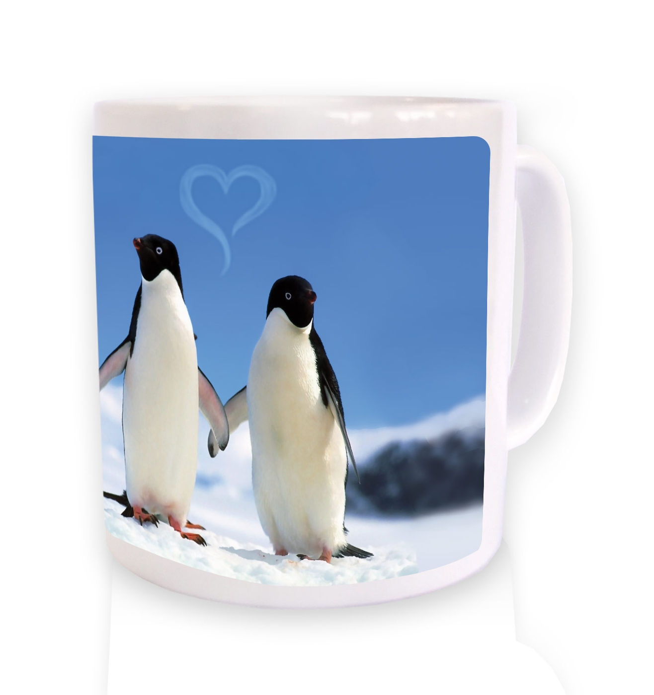 Penguins In Love mug