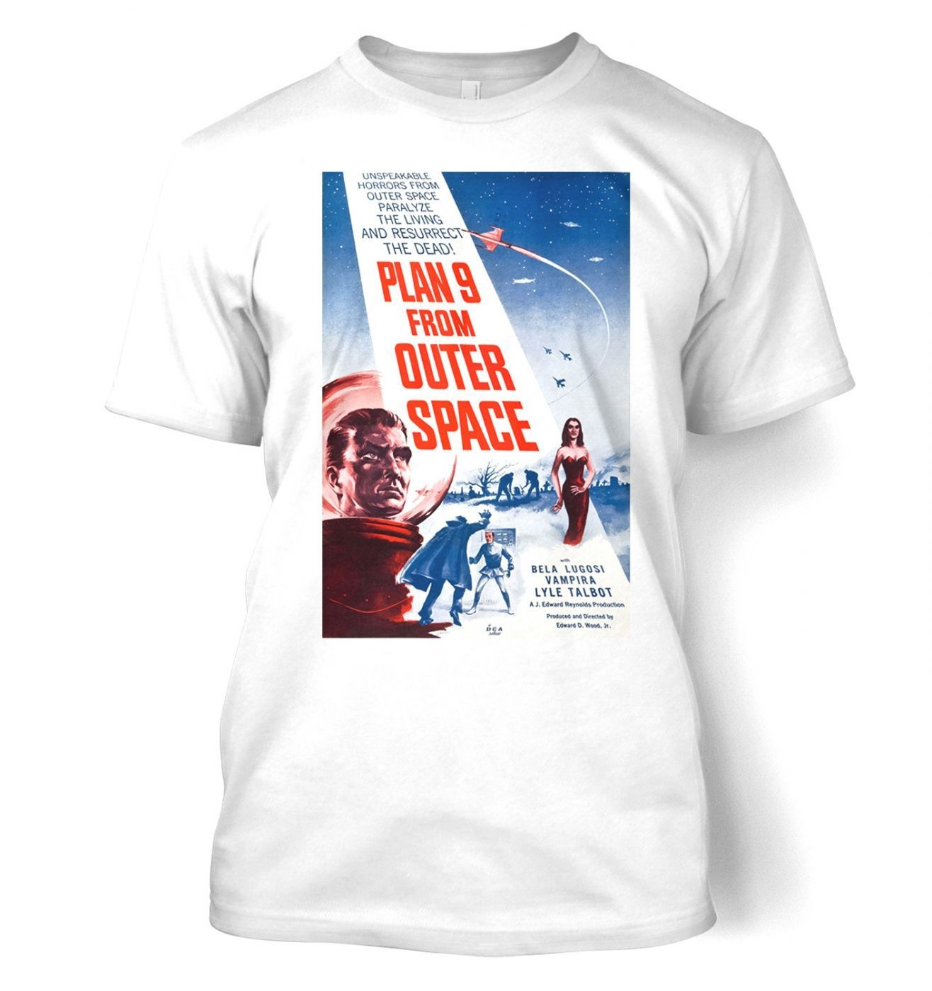 Plan 9 From Outer Space men's t-shirt