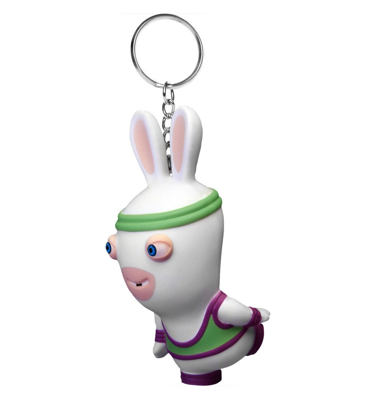 Rabbid Fitness Squeeze Anti-stress Keychain