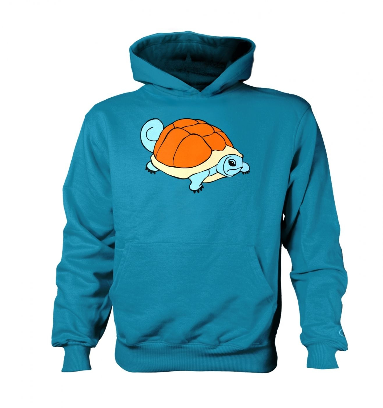 Real Life Squirtle kids contrast hoodie  - Inspired by Pokemon