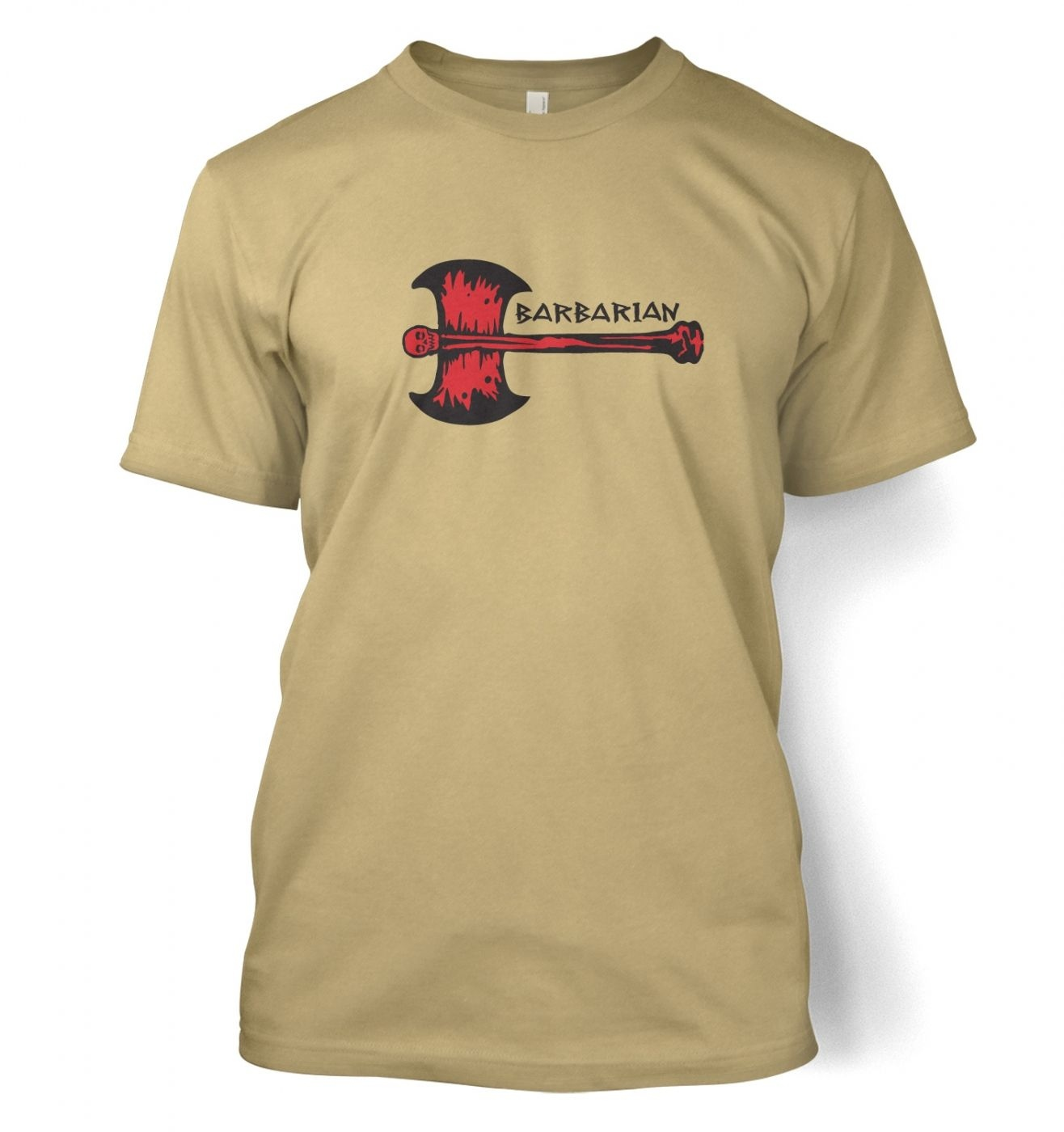Red Barbarian Axe  t-shirt