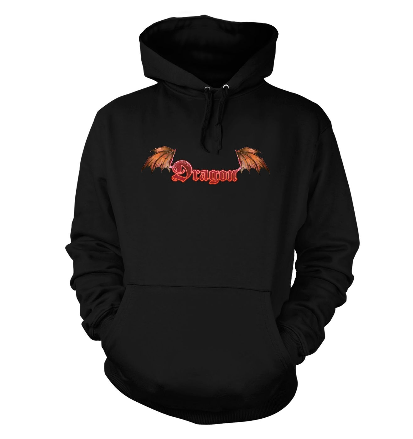 Red Dragon hoodie (with spectacular dragon wings backprint)
