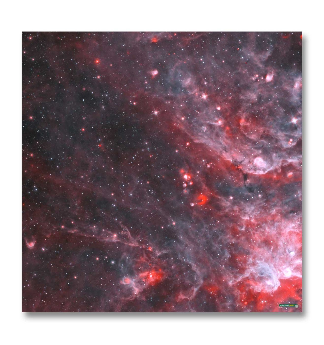 space gaming mat