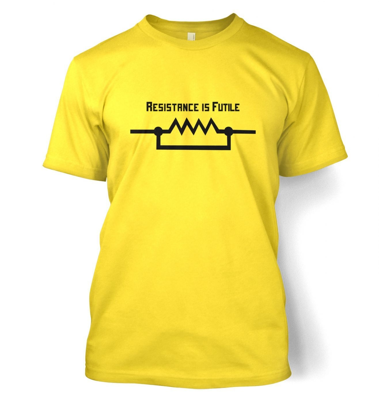 Resistance Is Futile (US) men's t-shirt