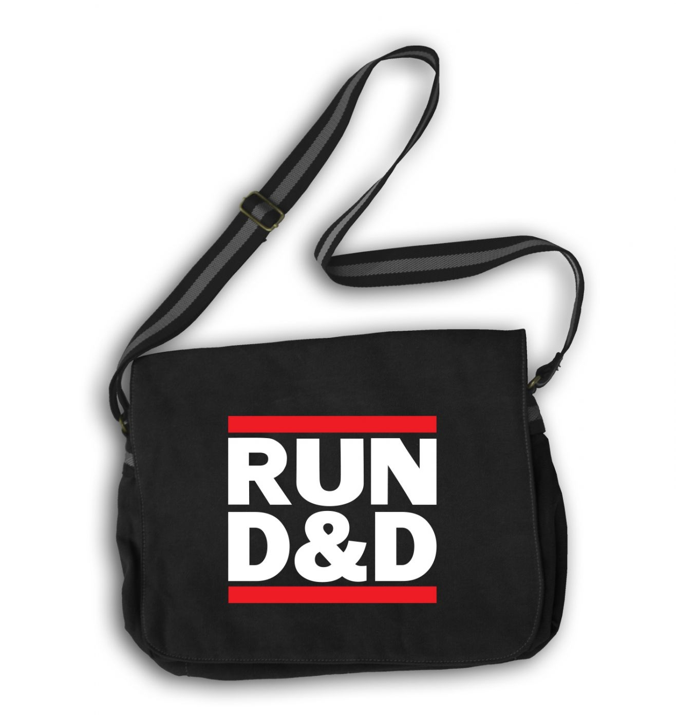 RUN D&D messenger bag - RUN DnD bag - cool bag for RPG gamers