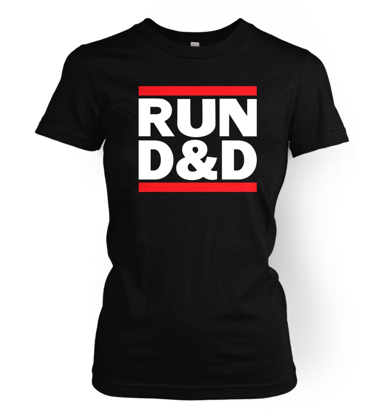 RUN D&D women's t-shirt - Ladies RUN DnD tshirt - women's funny RPG clothing