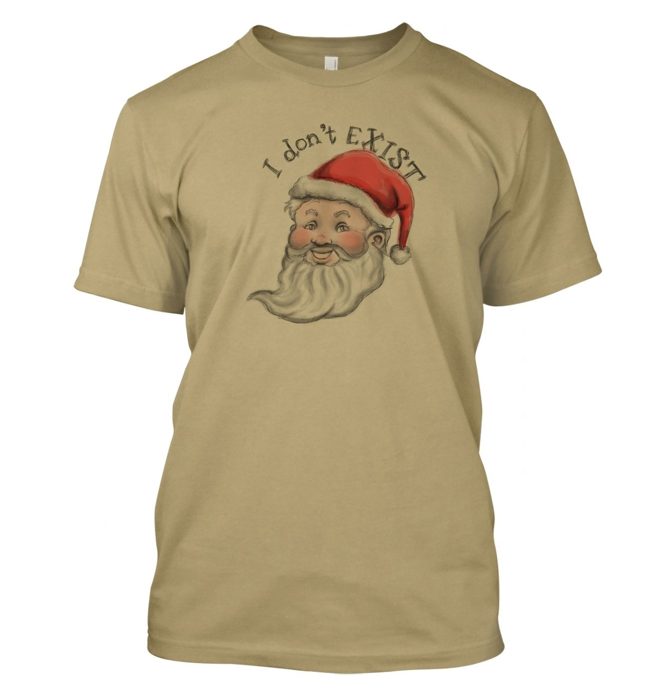 Santa doesn't exist t-shirt