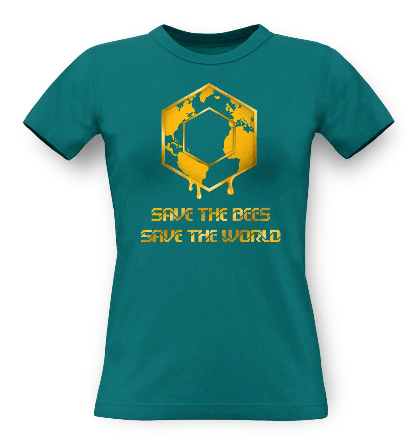Save The Bees classic women's t-shirt by Something Geeky