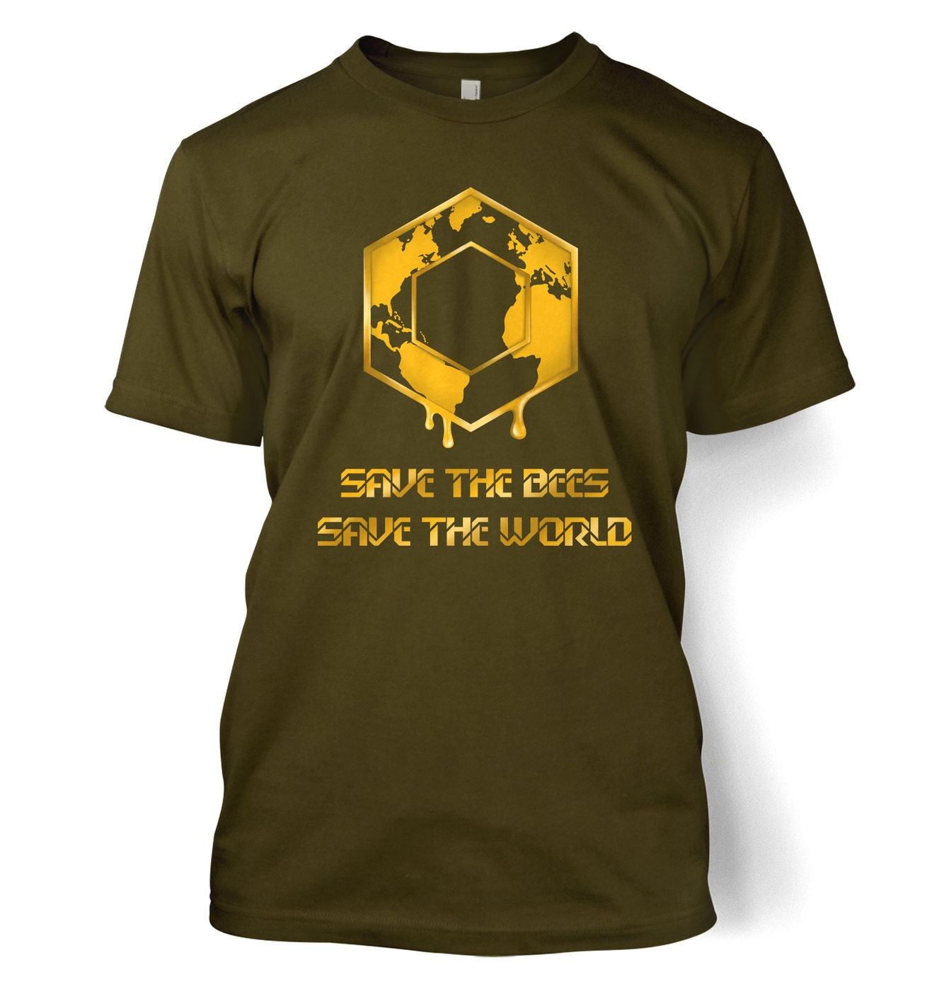 Save The Bees t-shirt by Something Geeky