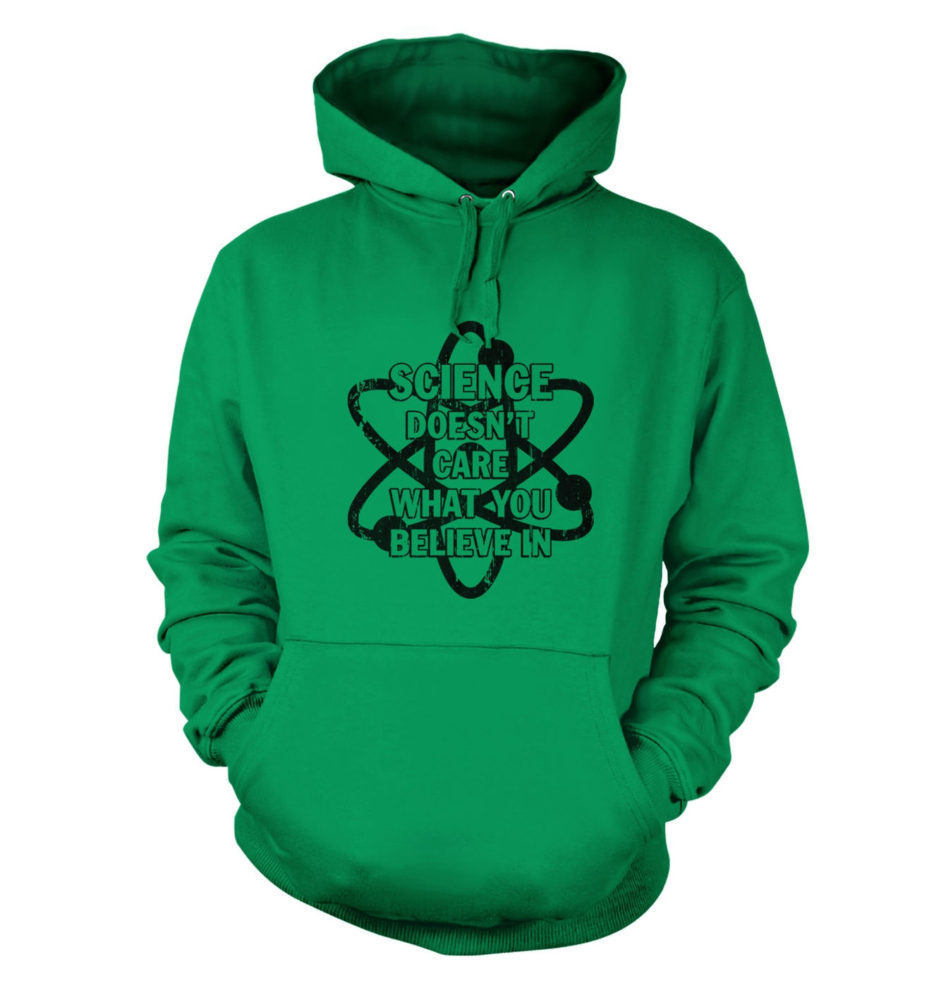 Science Doesn't Care hoodie by Something Geeky