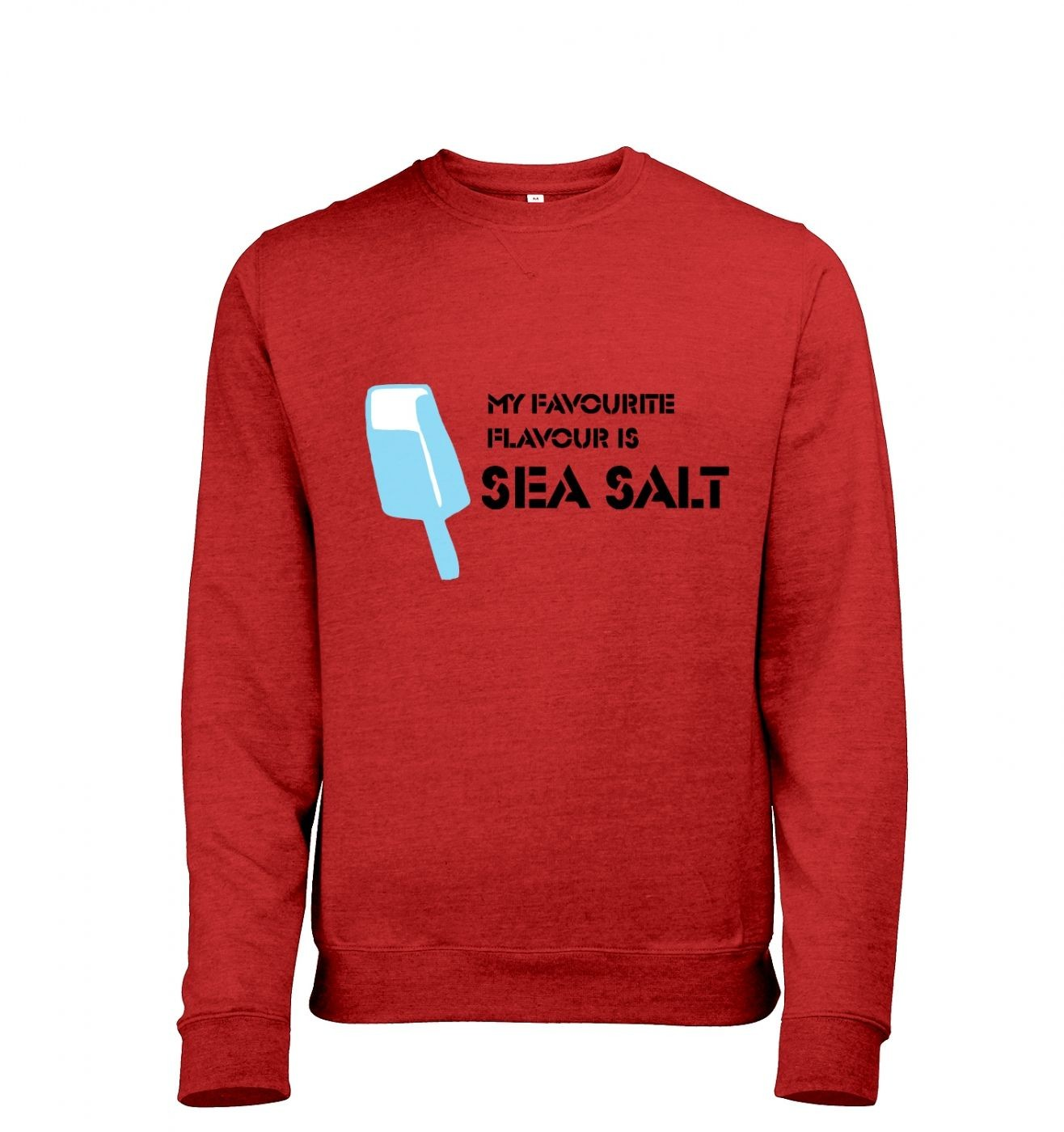 Sea Salt Ice Cream men's heather sweatshirt