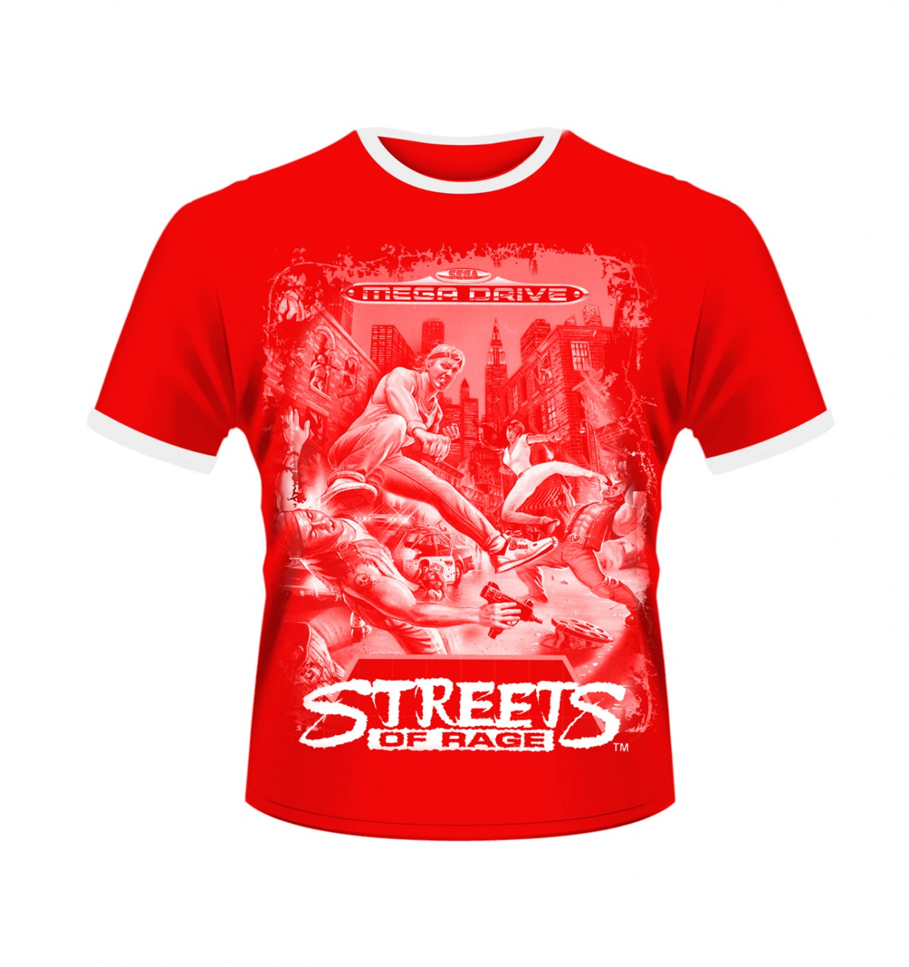 SEGA Streets Of Rage men's t-shirt - Official