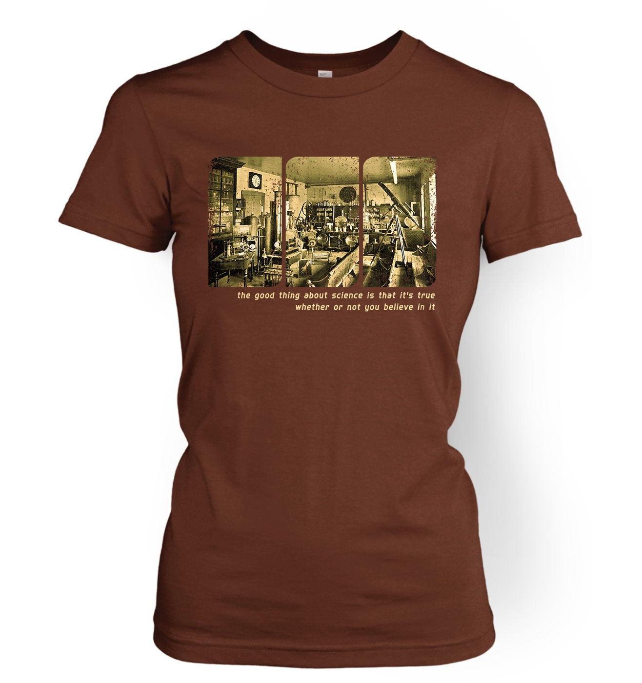 Sepia Science Lab women's t-shirt