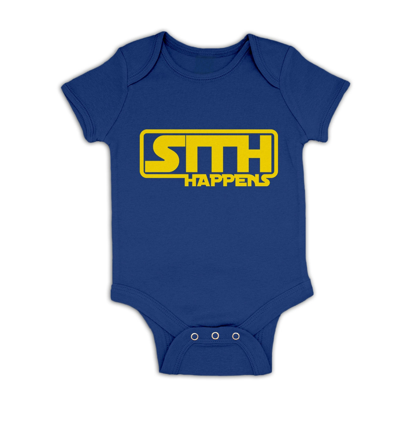 Sith Happens baby grow by Something Geeky