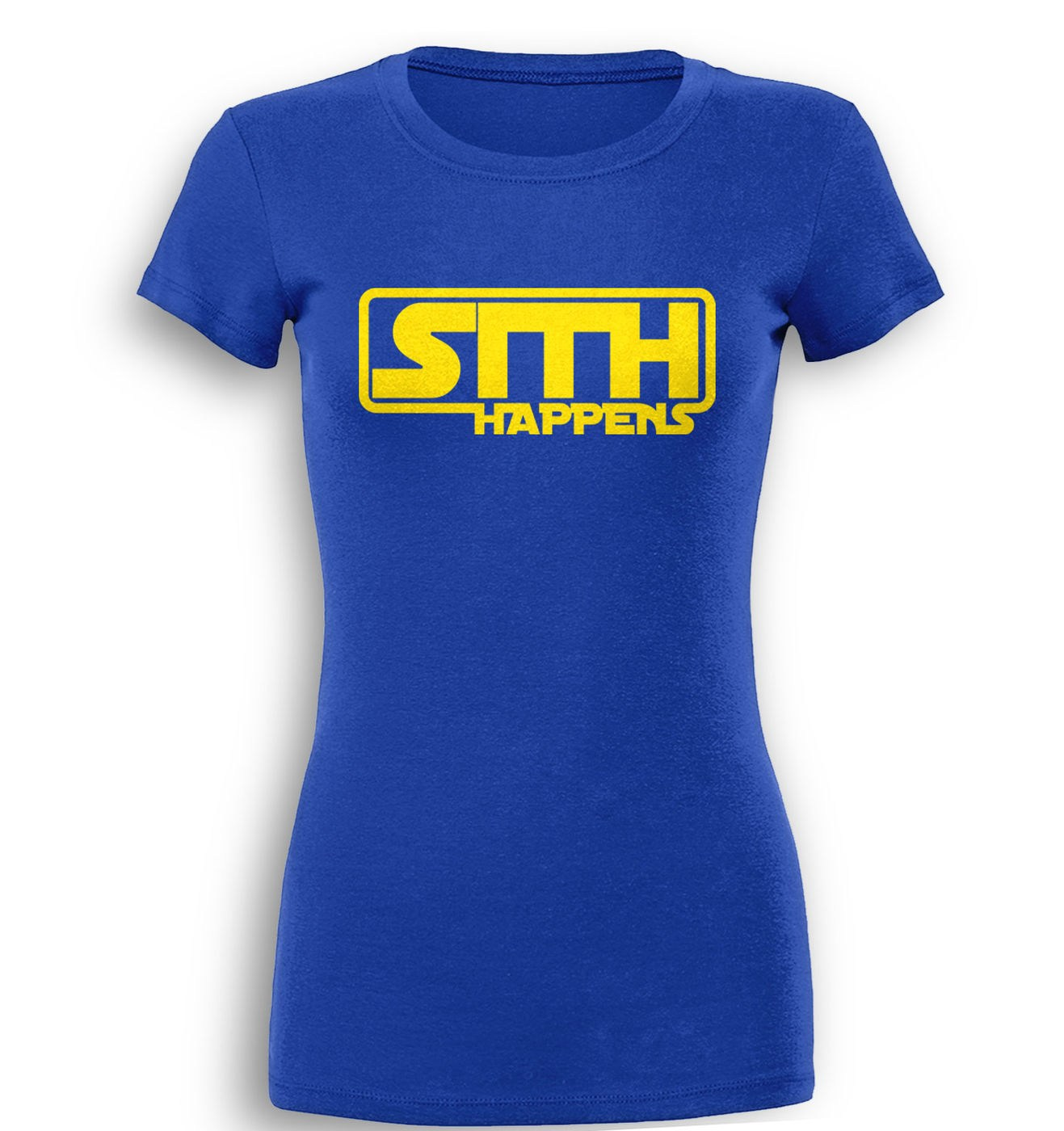 Sith Happens premium women's t-shirt by Something Geeky