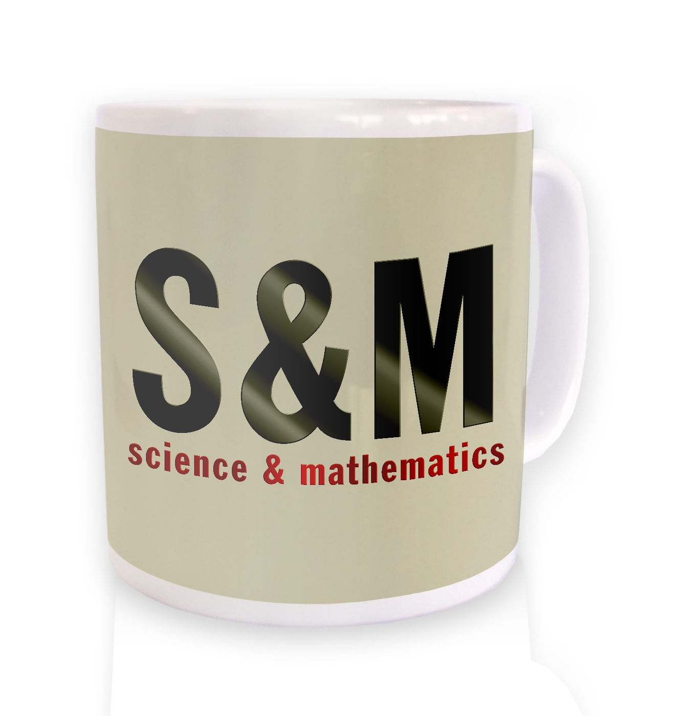 S & M mug funny science & mathematics mug
