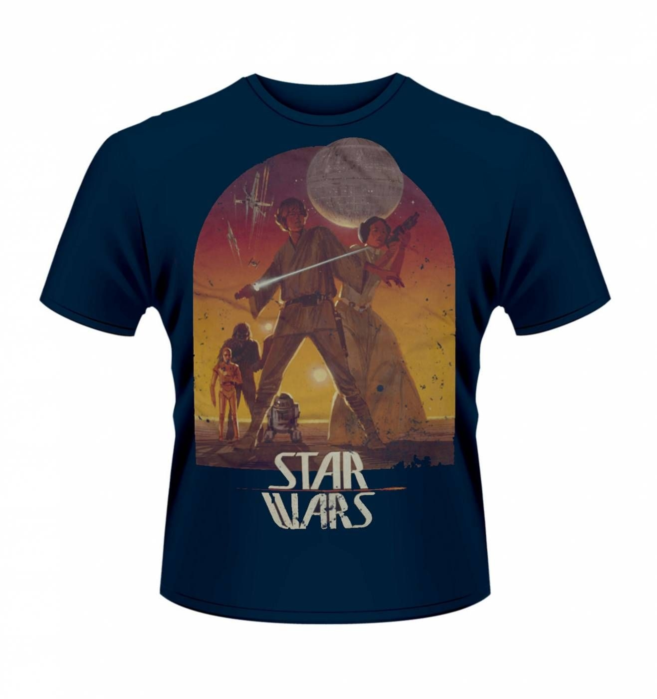 Star Wars Sunset Poster T Shirt Official Somethinggeeky
