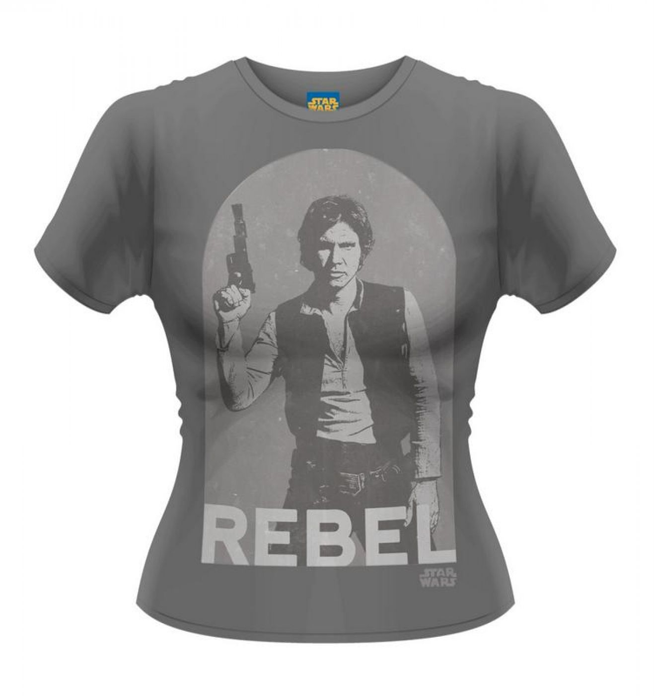 Star Wars Han Solo Rebel women's t-shirt - OFFICIAL STAR WARS MERCHANDISE