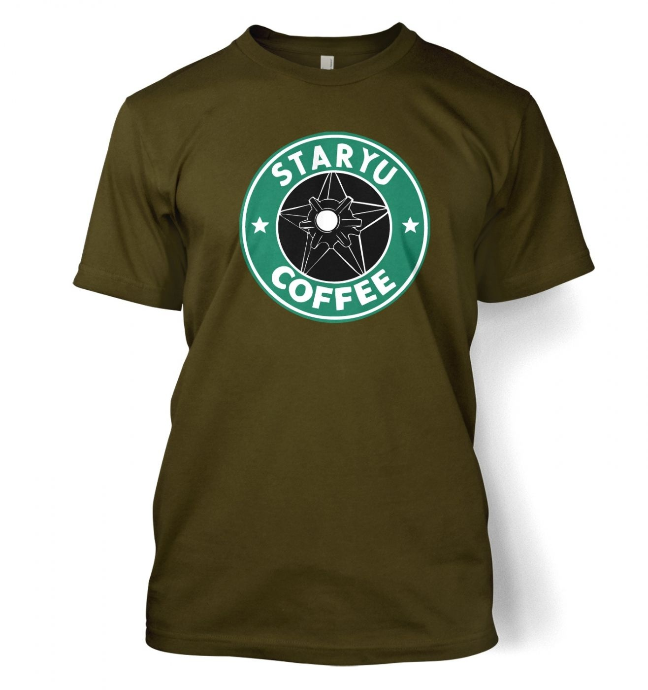 Staryu Coffee T-Shirt - Inspired by Pokemon