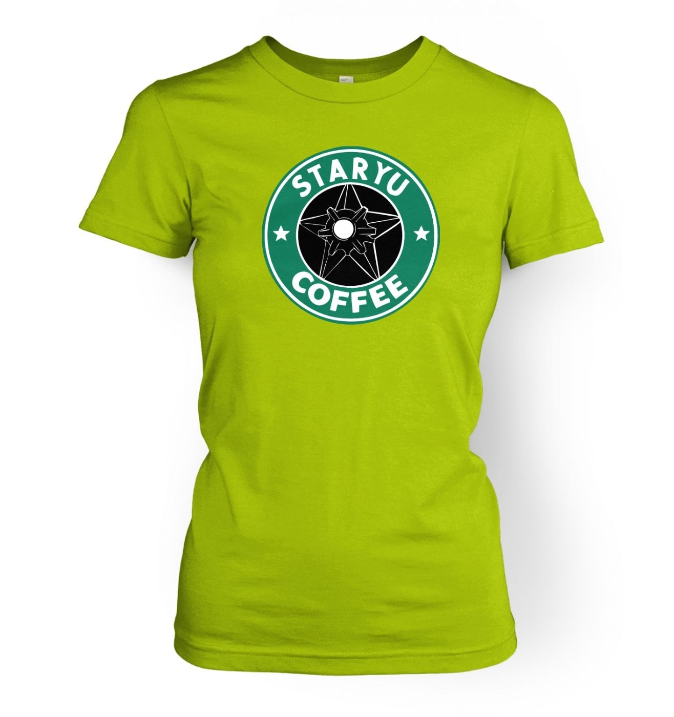 Women's Staryu Coffee T-Shirt - Inspired by Pokemon