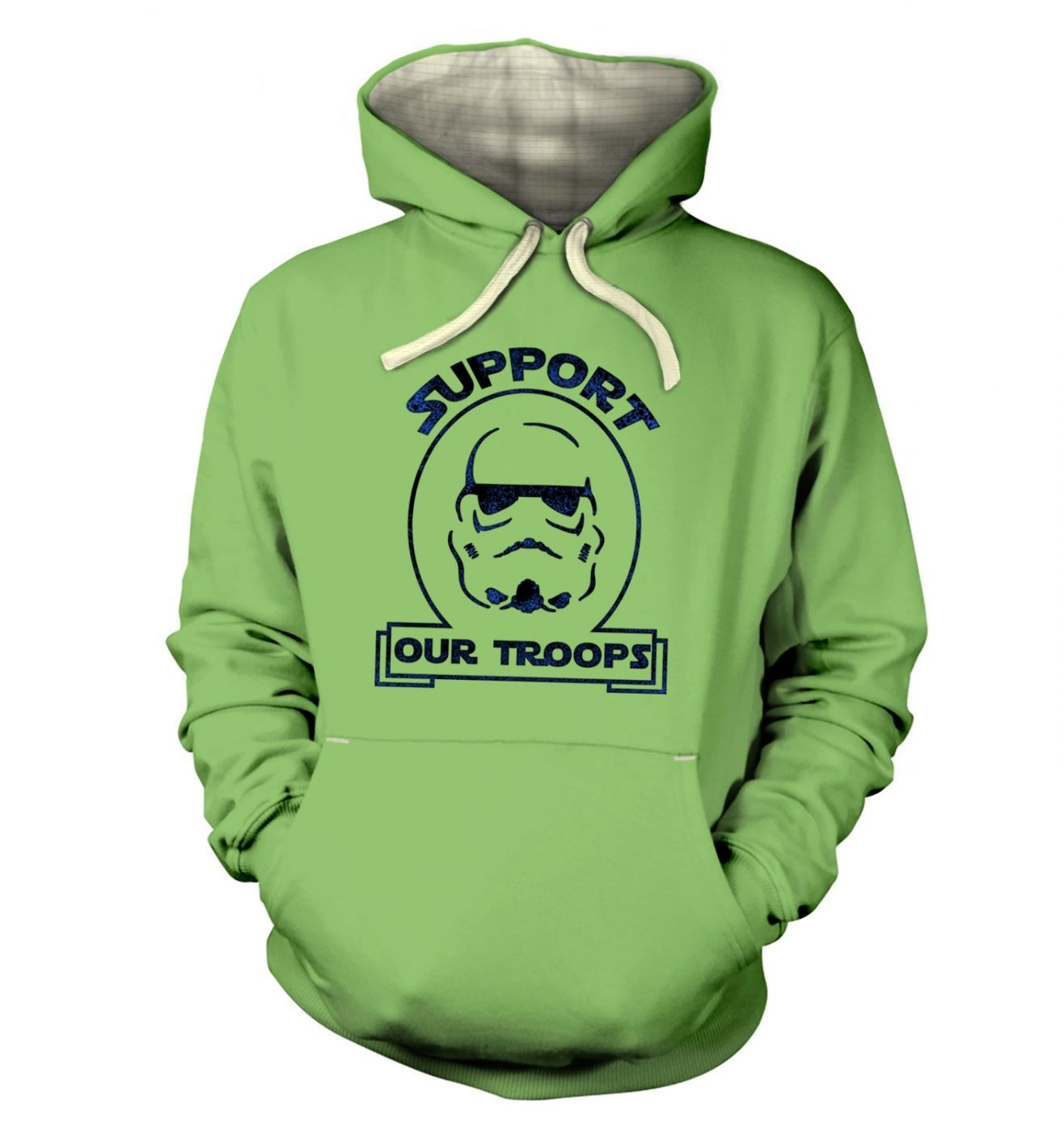Support Our Troops hoodie (premium)