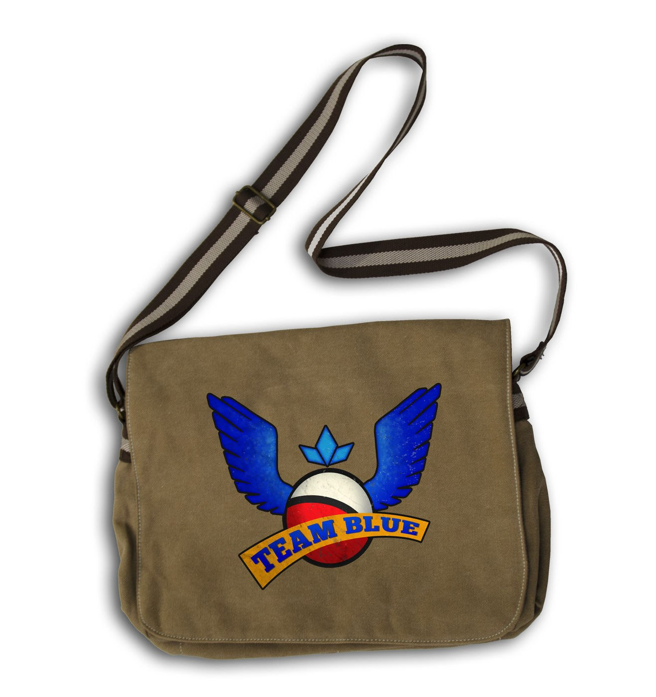 Team Blue gaming messenger bag