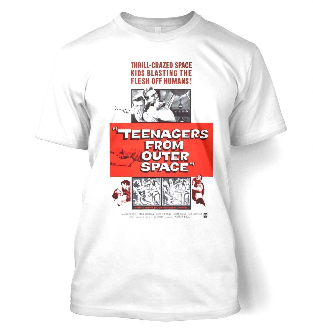 Teenagers From Outer Space men's t-shirt