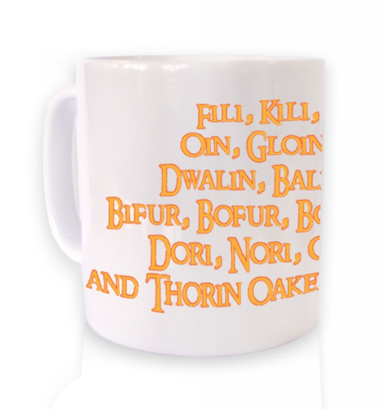 The Dwarves of Lonely Mountain  mug