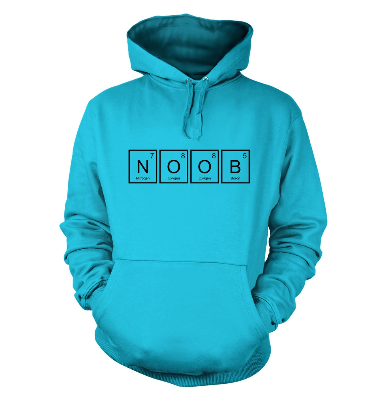 The Element of Noob adult hoodie