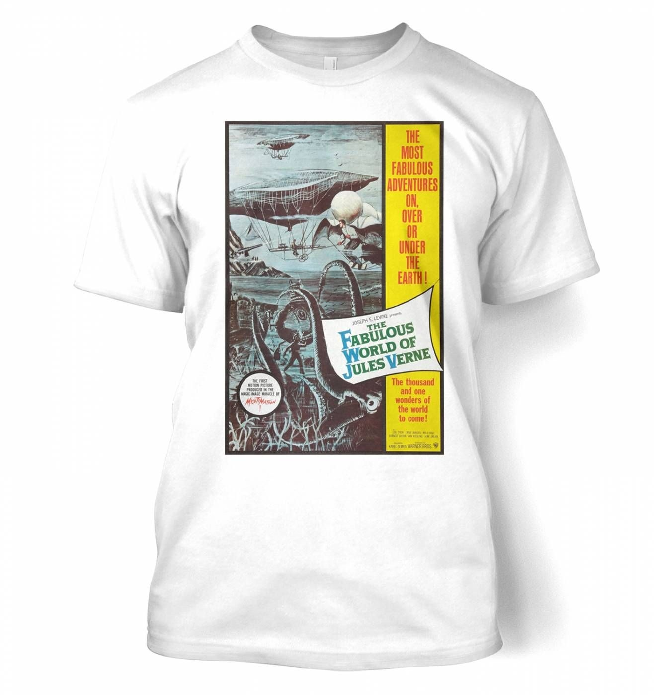 The Fabulous World Of Jules Verne men's t-shirt