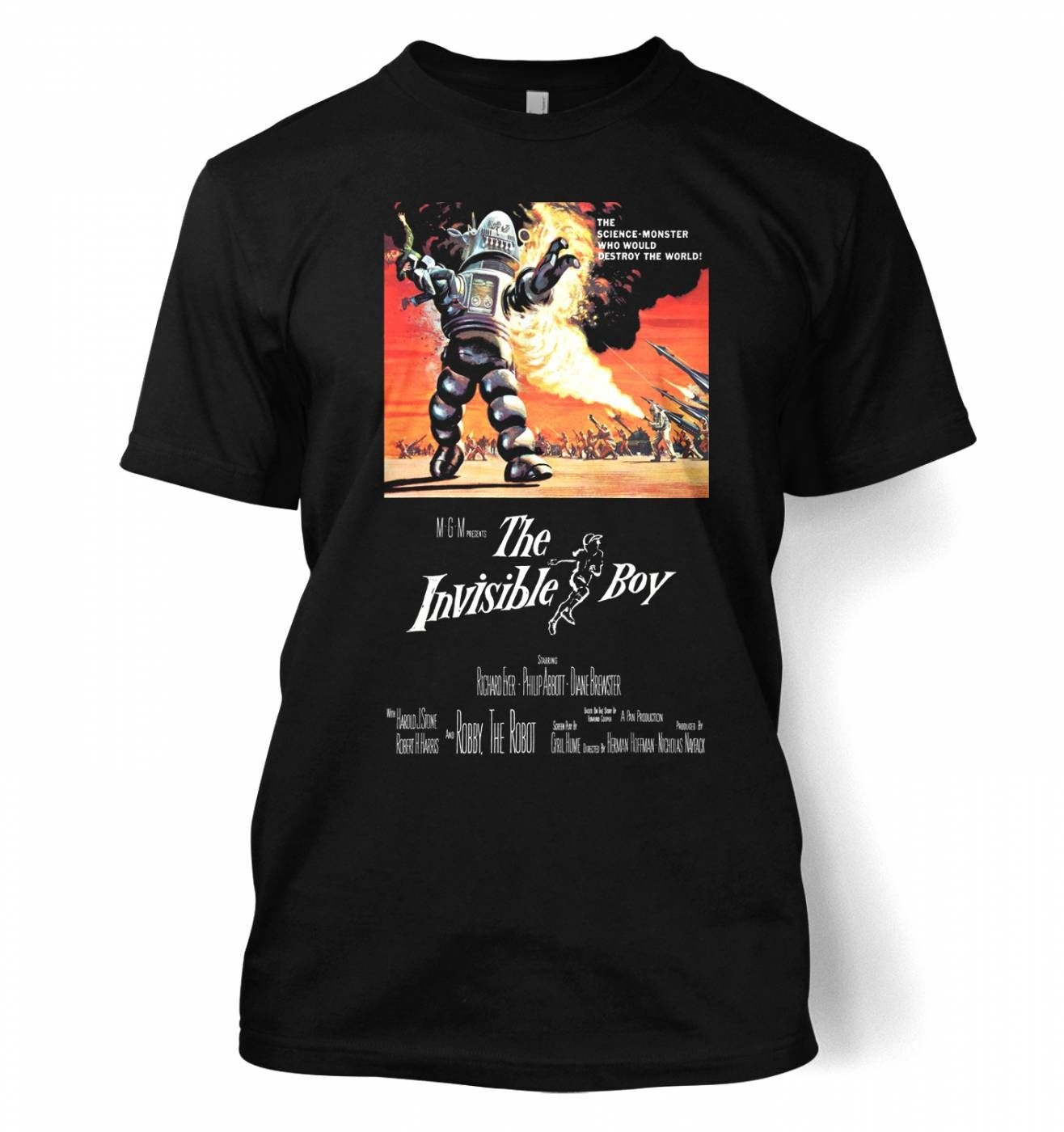 The Invisible Boy men's t-shirt