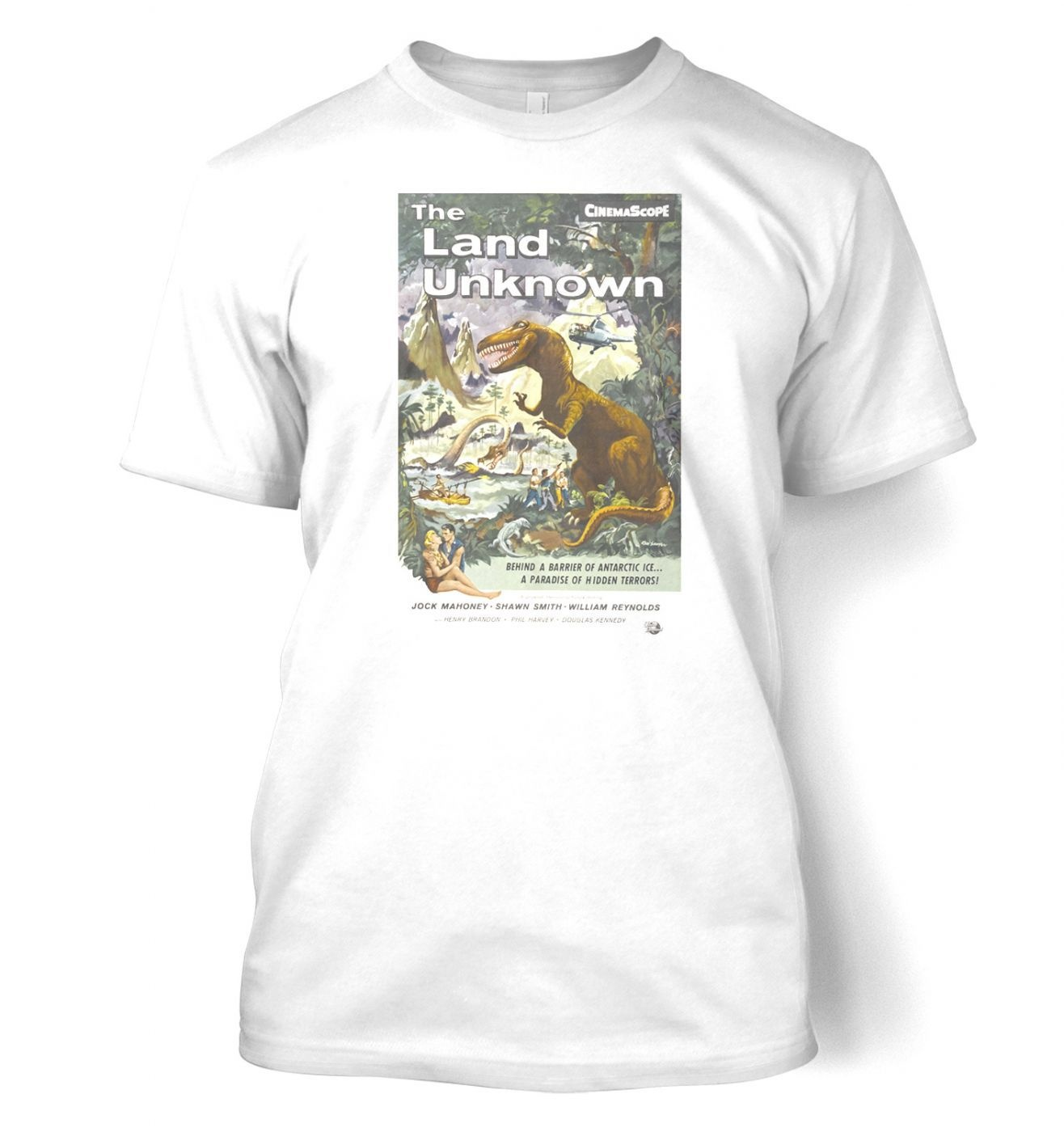 The Land unknown men's t-shirt
