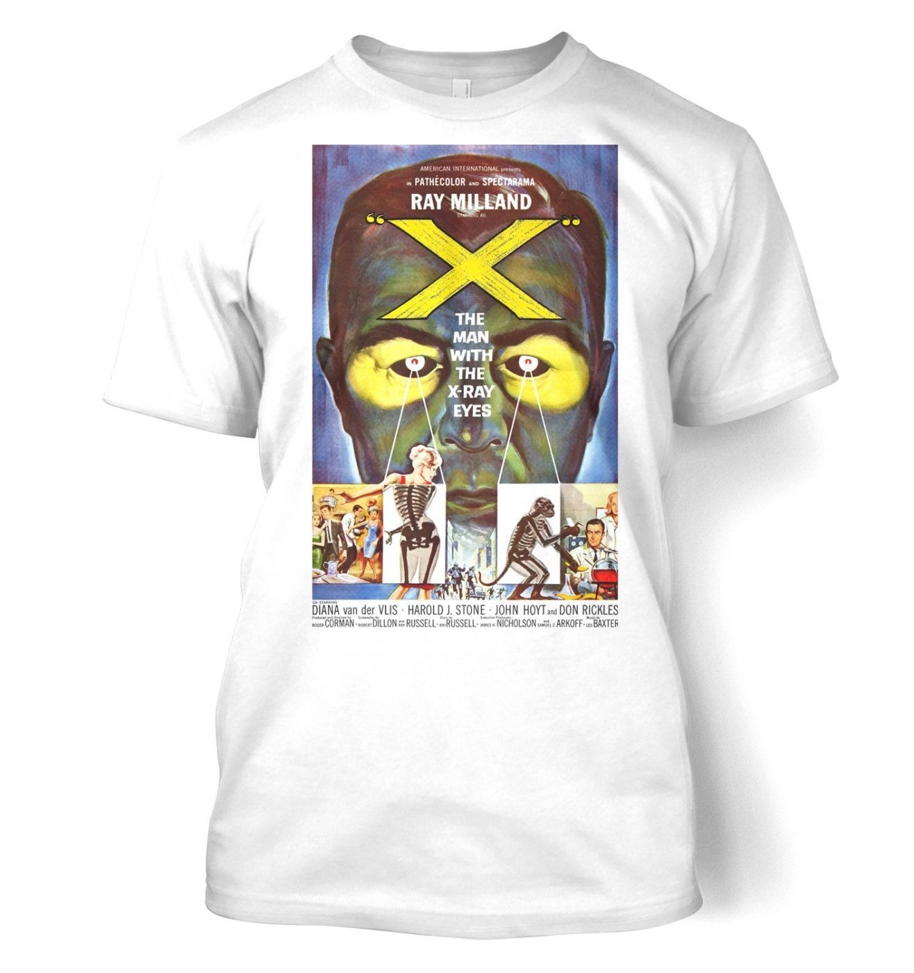 The Man With X-Ray Eyes men's t-shirt