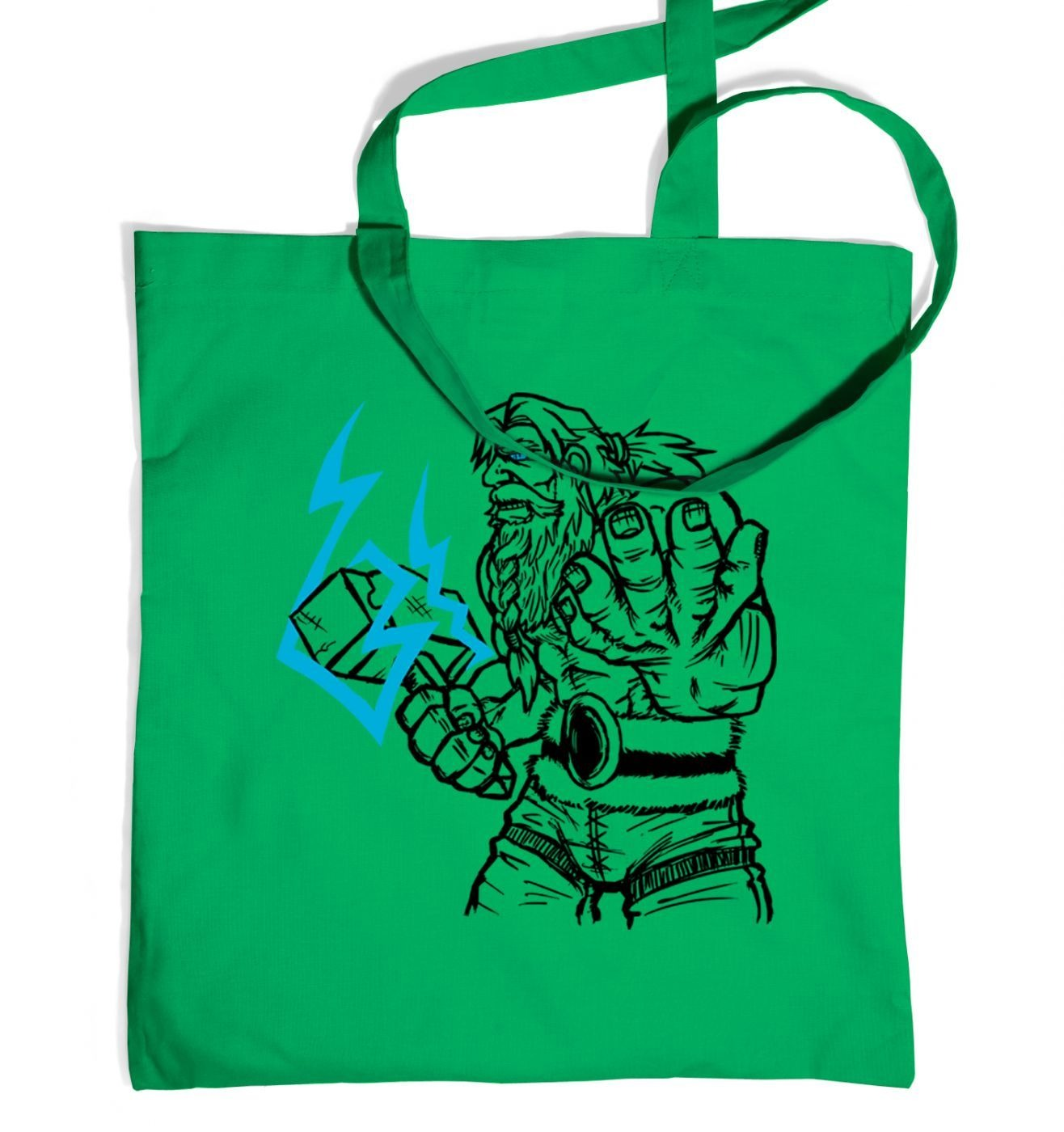 God Of Thunder Lineart Thor tote bag