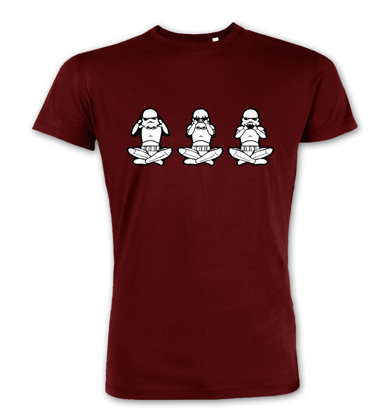 Three Wise Stormtroopers premium t-shirt by Something Geeky