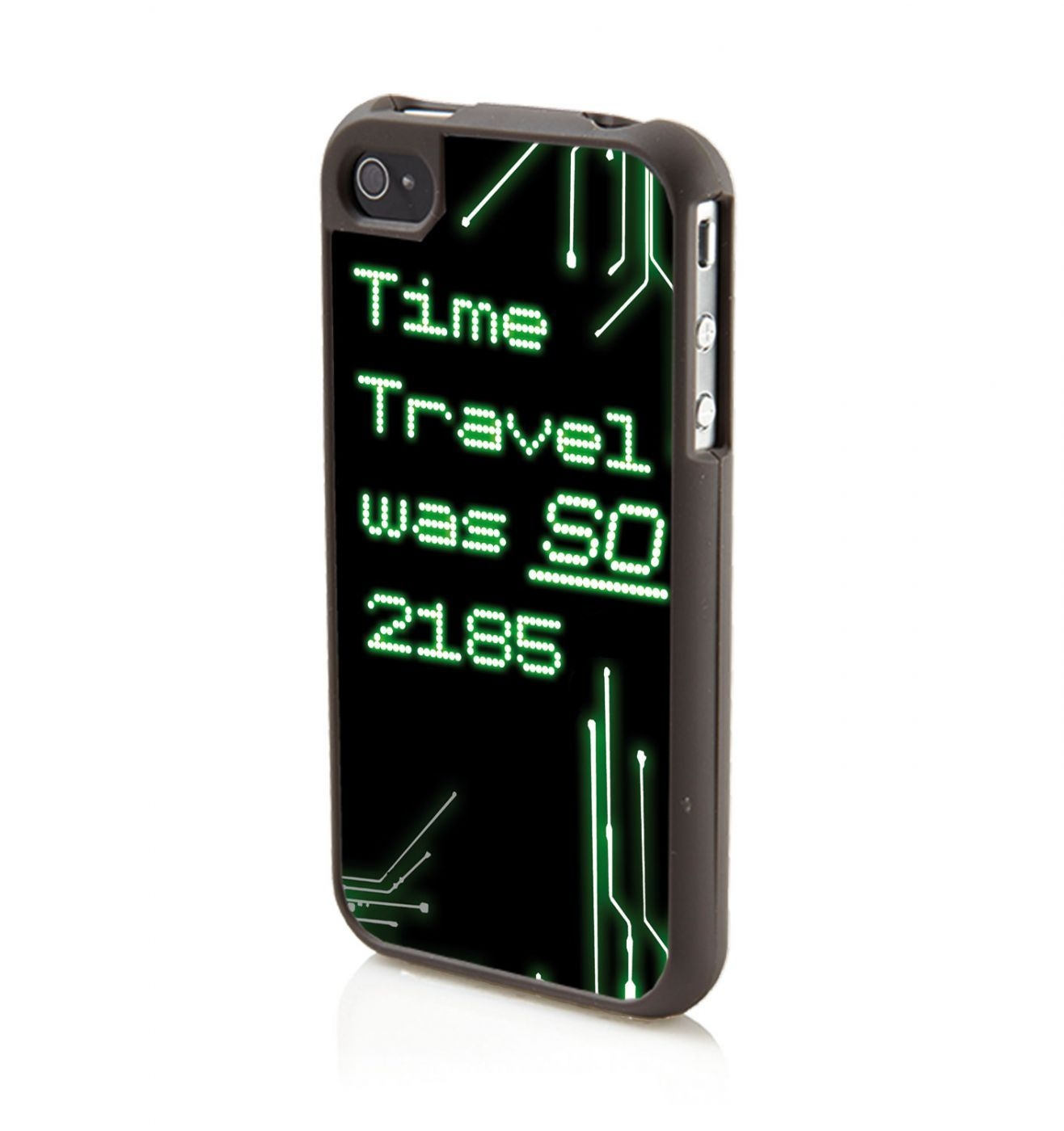 Time Travel Was So 2185 iPhone 4/4S phone case