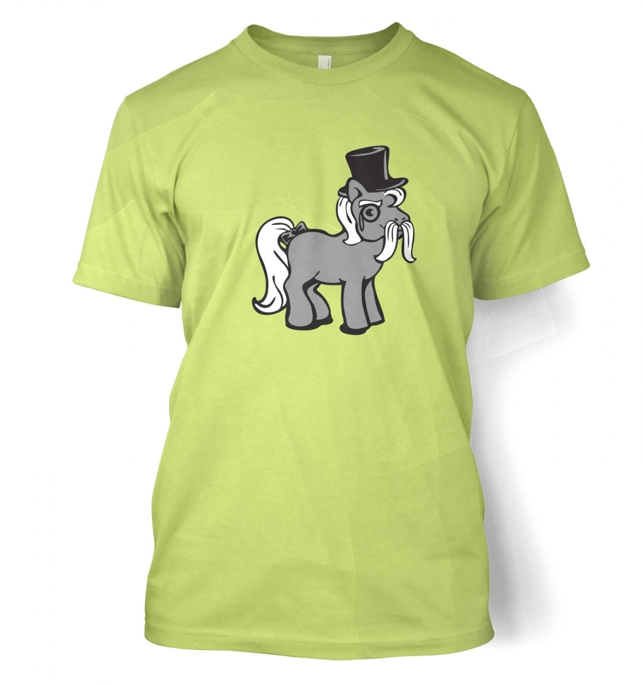 Top Hat Pony t-shirt