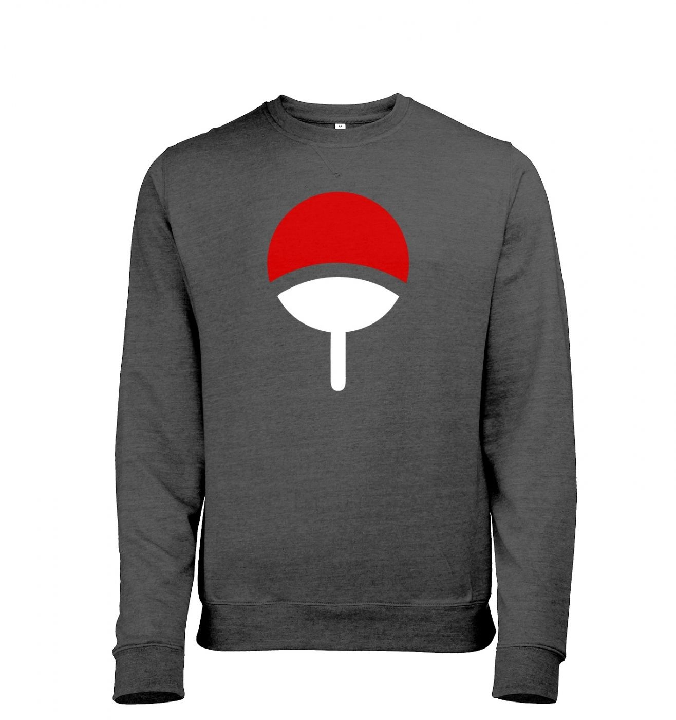Uchiha Family Mens Heather Sweatshirt   - Inspired by Naruto