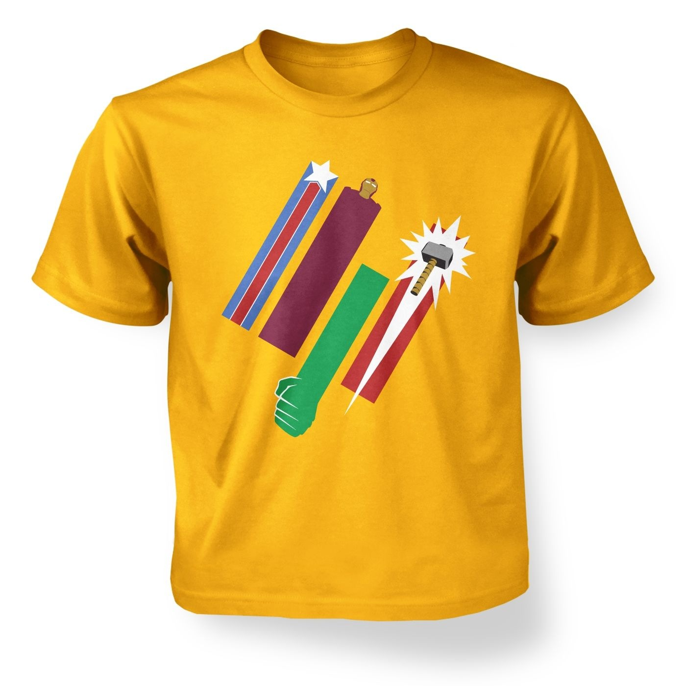 United Colours Of Avengement kid's t-shirt