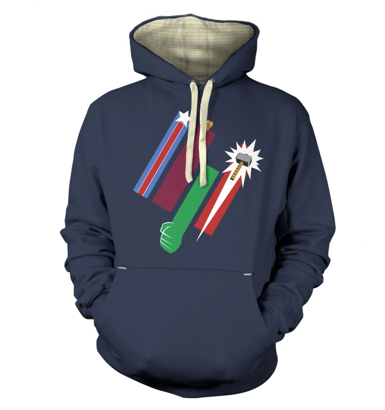 United Colours Of Avengement hoodie (premium)