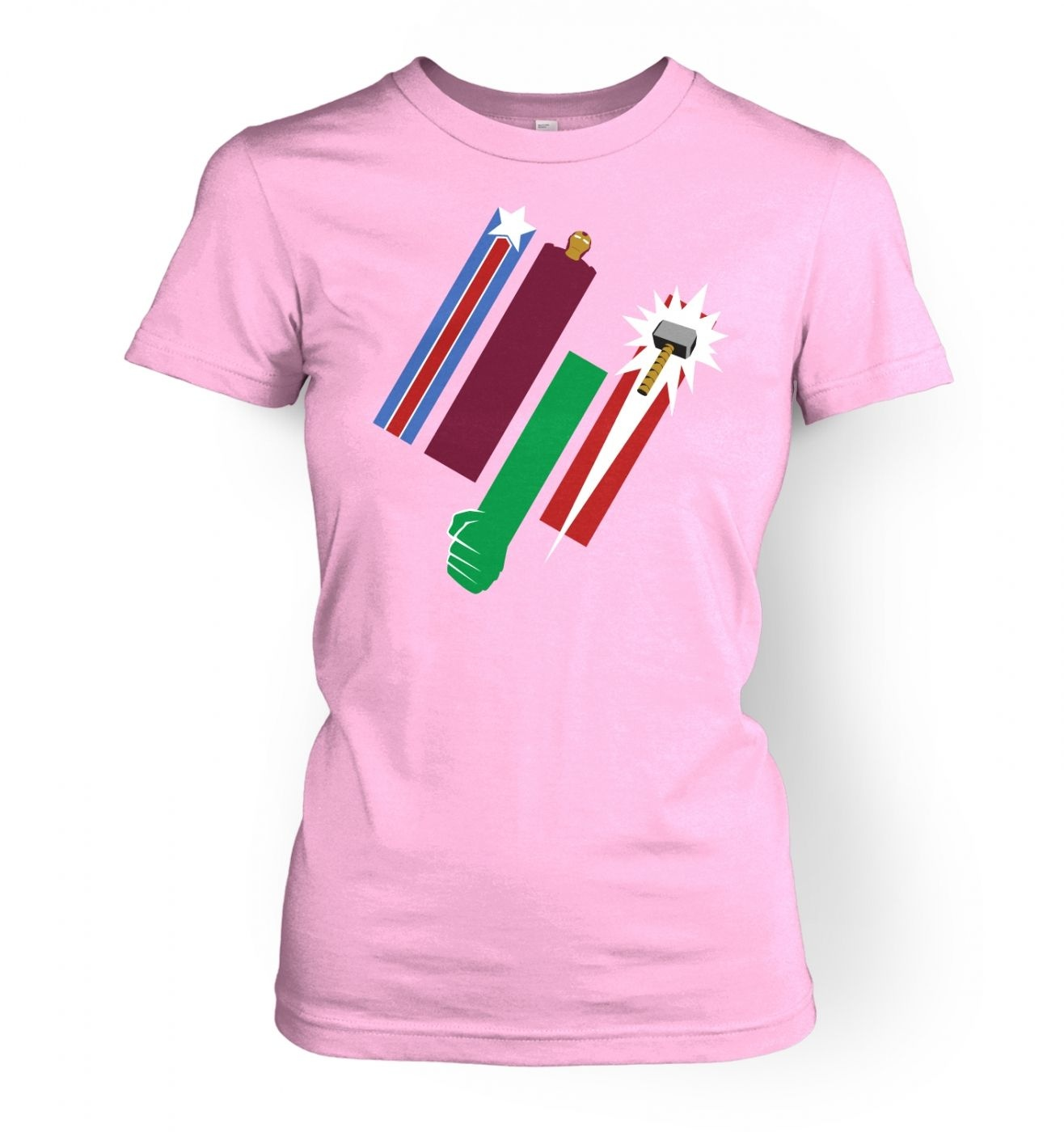 United Colours Of Avengement women's t-shirt