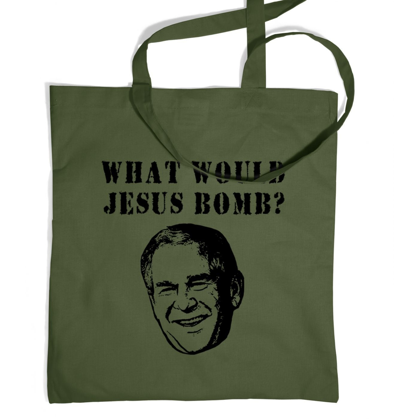 What Would Jesus Bomb? tote bag