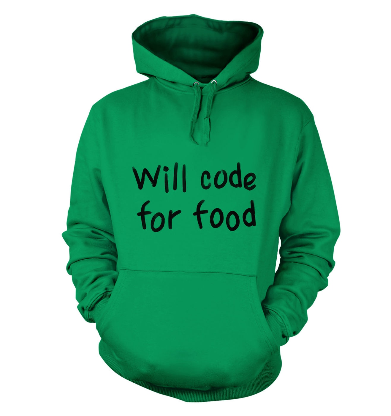 Will Code For Food hoodie by Something Geeky