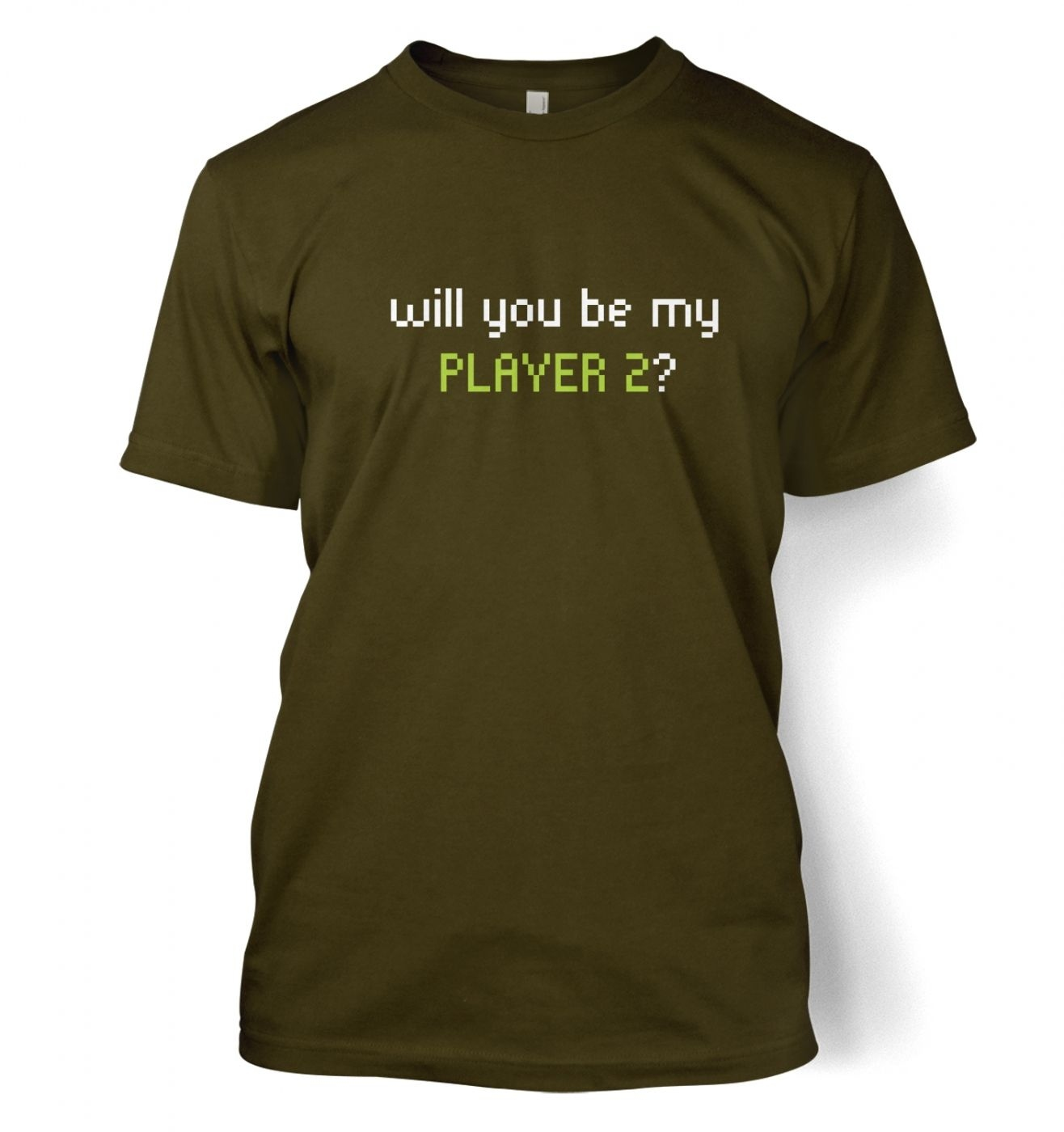 Will You Be My Player 2  t-shirt