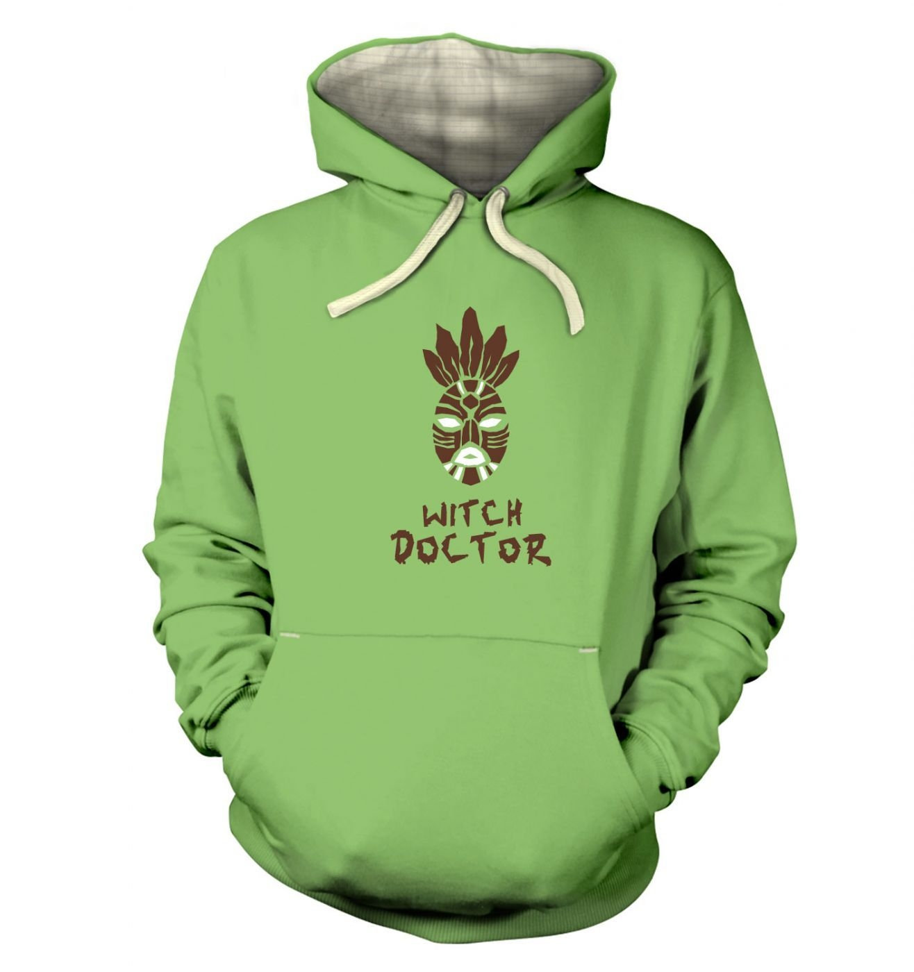 Witch Doctor Mask premium hoodie