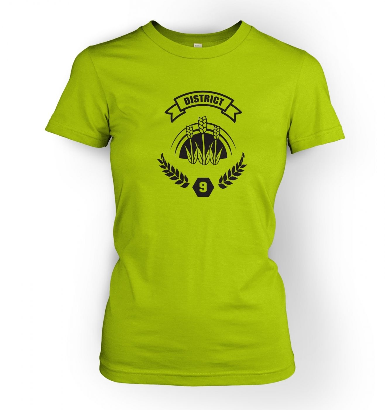 Women's District 9 t-shirt - Inspired by The Hunger Games