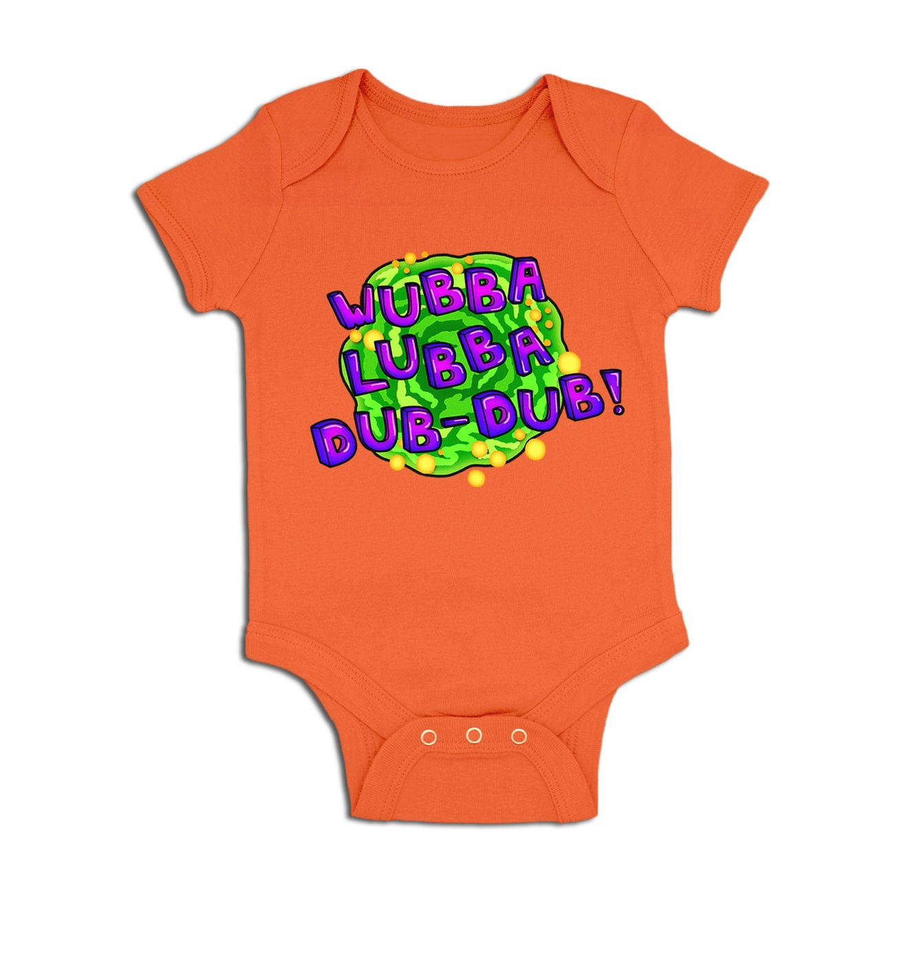 Wubba Lubba baby grow by Something Geeky