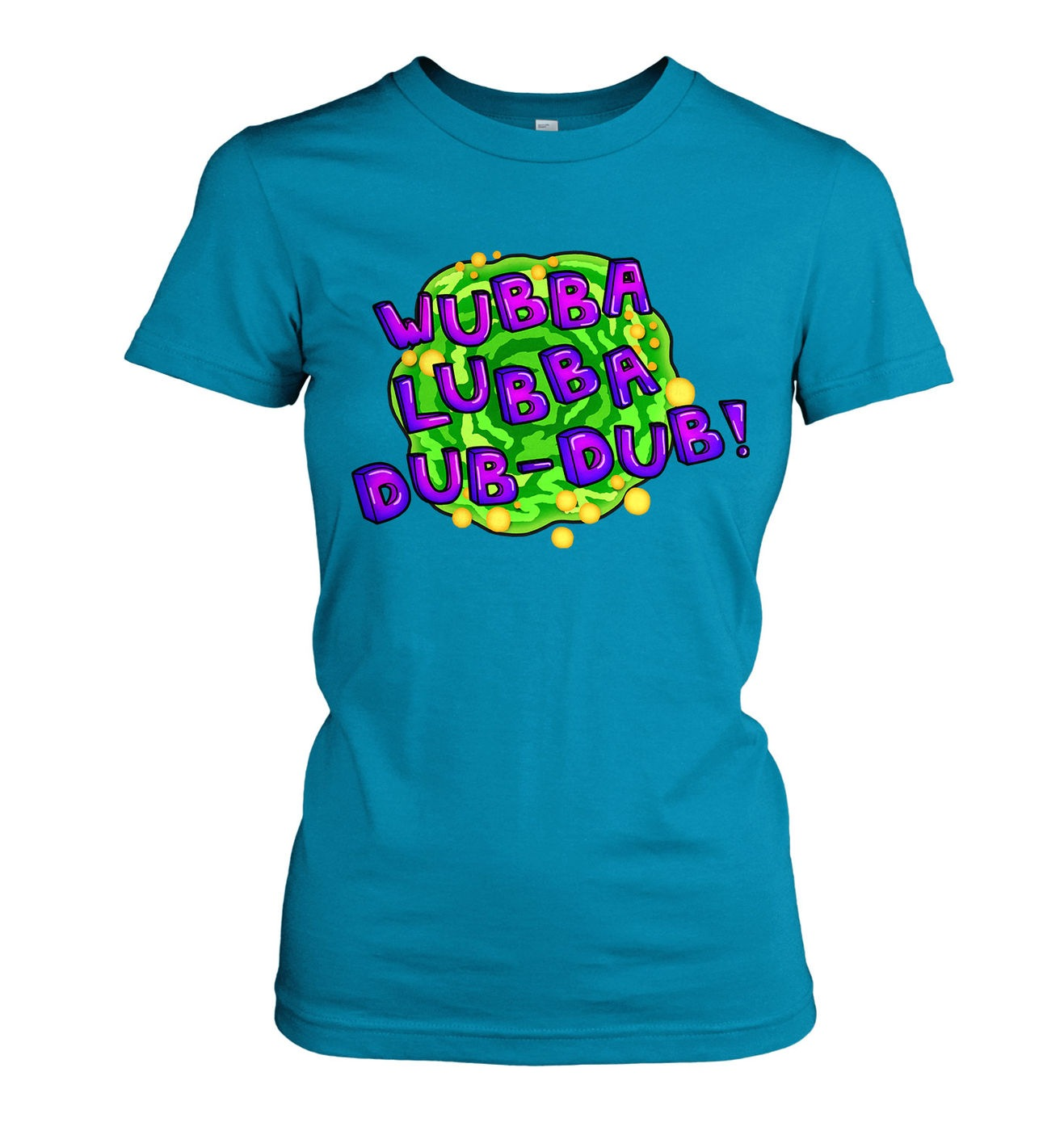 Wubba Lubba women's t-shirt by Something Geeky