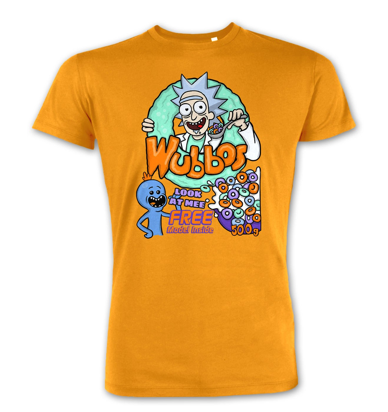 Wubbos Cereal premium t-shirt by Something Geeky