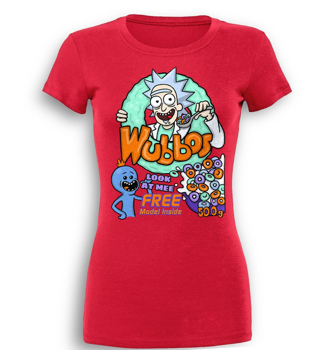 Wubbos Cereal premium women's t-shirt by Something Geeky